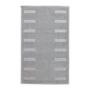 IKEA イケア BLANKSJON バスマット ミディアムグレー (603.369.38)|mpee