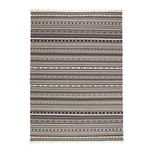 IKEA イケア KATTRUP ラグ 平織り 手織り グレー (803.232.99)|mpee