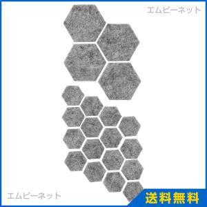 IKEA イケア FIXA フィクサ 接着式フロアプロテクター20枚セット, グレー (804.311.52)|mpee