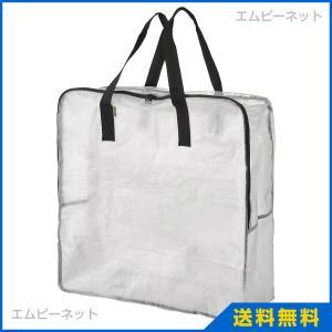 IKEA イケア DIMPA 収納バッグ 透明 (901.877.53)の写真