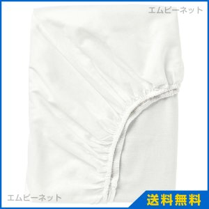 IKEA イケア FARGMARA ボックスシーツ ホワイト mpee