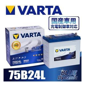 VARTA 75B24L バルタ 充電制御車対応 BLUE ...