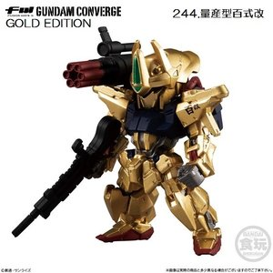 FW GUNDAM CONVERGE GOLD EDITION 「244.量産型百式改」 バンダイ|mpitsuki-ys