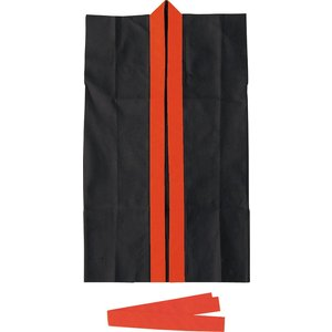 【アーテック】ロングハッピ不織布 黒(赤襟)...の関連商品10