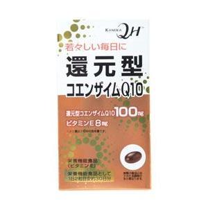 「還元型コエンザイムQ10 60粒」は、ビタミンEの栄養機能食品です。カネカ社製の還元型コエンザイム...