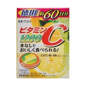 【井藤漢方製薬】ビタミンC 1200 60包 ※...の商品画像