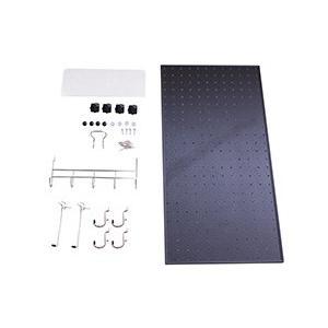 光 パンチングボードキット 黒 約300×600mm PGBK361