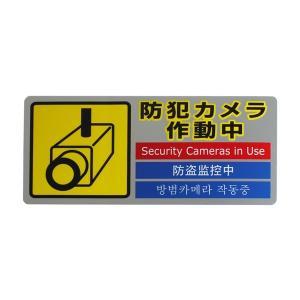 SEC127-1 防犯カメラ作動中|mproshop