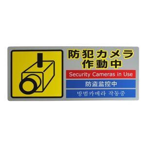 SEC291-1 防犯カメラ作動中|mproshop