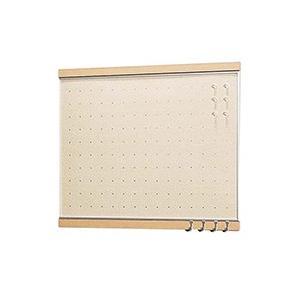 ベルク 【日本製インテリアボード】 フック付きマグボード 450×600 ナチュラル MR4051 mproshop