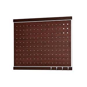 ベルク 【日本製インテリアボード】 フック付きマグボード 450×600 セピア MR4055 mproshop