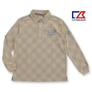 カッター&バック メンズ 長袖ボタンダウンシャツ グレー系チェック LLサイズ 2013秋冬物 CBM1369N783 mps