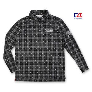 カッター&バック メンズ 長袖ボタンダウン MOTION3D グレー系ドットプリントシャツ 2014秋冬物 CBM1387N391 mps