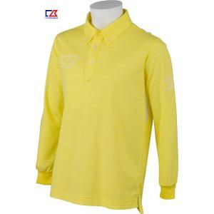カッター&バック メンズ MOTION3D 長袖ボタンダウンシャツ イエロー系ボーダー 2016春夏物  CBM1414Y939 mps