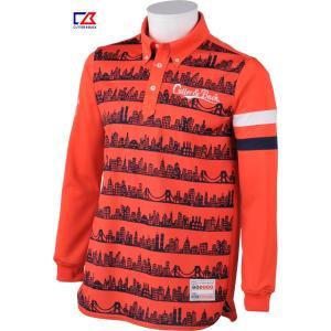 カッター&バック メンズ MOTION3D 長袖ボタンダウンシャツ レッド系柄 2016秋冬物  CBM1417R488 mps
