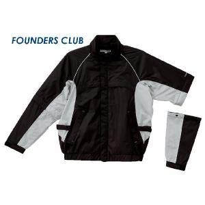 ファウンダース レインウェア ジャケット ブラック FC6510A-07|mps