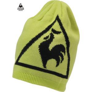 ルコックゴルフ メンズ ニットキャップ イエロー系 2016秋冬物 QG0249L859|mps