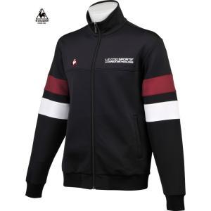 ルコックゴルフ メンズ フルジップ スウェット ブラック 2016秋冬物  QG4717N151|mps