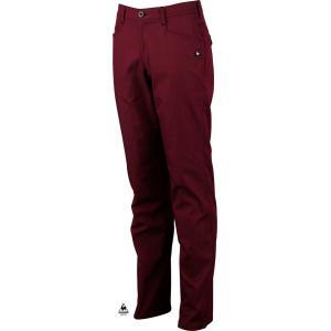 ルコックゴルフ メンズ MOITON3D 綿混パンツ レッド系 2016秋冬物 QG8492W225|mps