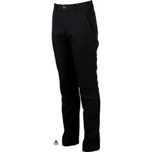ルコックゴルフ メンズ MOITON3D ストレッチパンツ ブラック 2016秋冬物 QG8497N151|mps