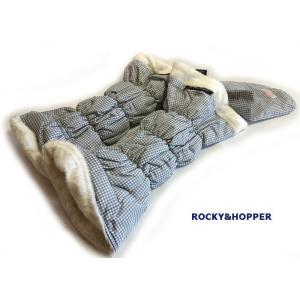 ROCKY&HOPPER ロッキー&ホッパー レディース リバーシブル レッグウォーマー ライトグレーチェック×ホワイト RH7040WL-0112|mps