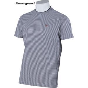 マンシングウェア メンズ 半袖 Tシャツ ネイビーL 2015春夏物 SG3817M133|mps