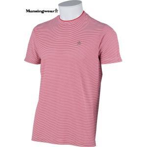 マンシングウェア メンズ 半袖 Tシャツ レッド 2015春夏物 SG3817R358|mps