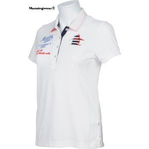 マンシングウエア レディース ULTRA COOL 半袖ポロシャツ オフホワイト 2016春夏物  SL1705N921 mps