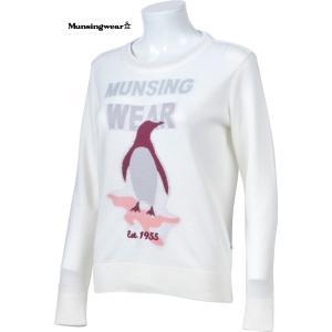 マンシングウェア レディース セーター オフホワイト 2016秋冬物 SL4323N921|mps