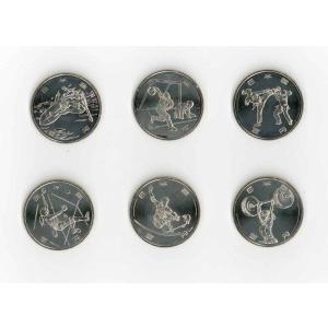 東京2020オリンピック・パラリンピック競技大会記念 100円クラッド貨幣  6種セット