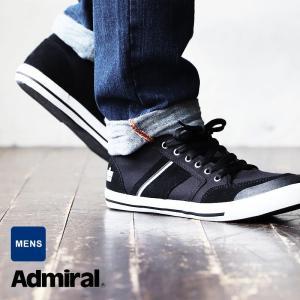 (アドミラル) Admiral ローカット スニーカー【INOMER イノマー】キャンバス × スウェード内側 クッション 40代 50代|mr-lunberjack