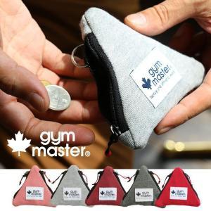 三角 コインケース キーケース 手のひらサイズ 小さい キーリング付き 小銭入れ (ジムマスター) gymmaster 春 夏   メンズ|mr-lunberjack