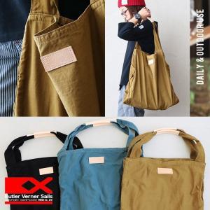 バッグ トート 鞄 かばん ビッグ 日本製 反応染め ヌメ革 キャンバス メンズ   Butler Verner Sails|mr-lunberjack