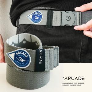 ベルト ゴム ラバー ゴムベルト ラバーベルト フリーサイズ ストレッチ DRAKE  (アーケード) ARCADE  メンズ|mr-lunberjack