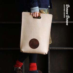 バッグ ハンドルバッグ A4サイズ 栃木レザー社製 牛革 スエード 「Mr.Brown 刻印」 日本製 Brown Brown  レディース メンズ|mr-lunberjack