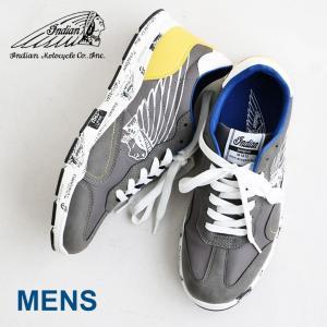 スニーカー シューズ 靴 Lenox(レノックス)プリント ナイロン 合成皮革 INDIAN|mr-lunberjack