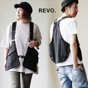 Revo ベスト ゲームベスト ユーティリティベスト 前開き 大型タブレット収納可能 アウトドア ポケット メンズ|mr-lunberjack