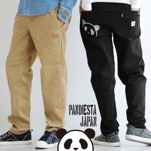 PANDIESTA JAPAN パンツ チノ テーパード 熊猫印 ストレッチ ツイル チノパン ワークパンツ ツイル アメカジ カジュアル  メンズ mr-lunberjack