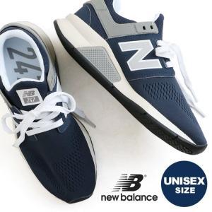 New Balance スニーカー ランニングシューズ ローカット NB MS247 MA レースアップ  メンズ|mr-lunberjack
