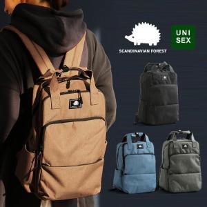 SCANDINAVIAN FOREST リュック リュックサック デイパック BAG  カバン 鞄 多機能 ワンポイント ポリエステル カジュアル  メンズ|mr-lunberjack