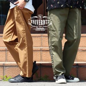 パンツ ルーズ イージー ウエストゴム 楽 薄手 メンズ   UNIVERD72(HOUSTON)|mr-lunberjack