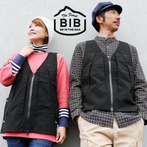 ベスト ビブス ワークベスト 「Route」  日本製 サイド調整 スナップボタン 大型 胸ポケット 背面ポケット メンズ レディース  BIB|mr-lunberjack