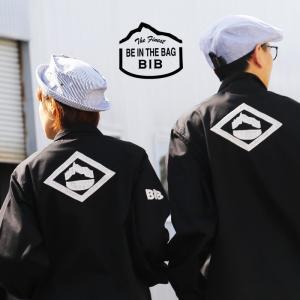 ジャケット カバーオール German BW Jacket デットストック 『バック 配色 家紋 KAMON ハンドル 刺繍』 日本製 メンズ   BIB mr-lunberjack