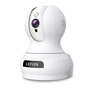 Lefun ネットワークカメラ 500万画素 2020初登場 ペット監視 子供見守り 老人介護 屋内防犯IPカメラ WiFiワイヤレス留守番|mr-m