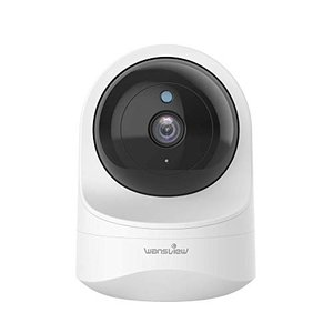 Wansview ネットワークカメラ1080P 200万画素 WiFi IPカメラ ワイヤレス屋内カメラ 防犯/監視カメラ ペットカメラ ベ|mr-m