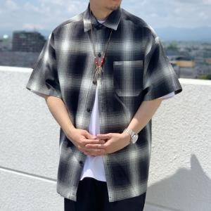 全6色 キャルトップ CALTOP USA カルトップ チェックシャツ オンブレチェック 半袖 OMBRE CHECK S/S SHIRT USA製 アメリカ製 mr-vibes