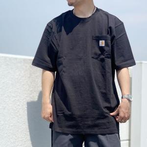 全5色 カーハート CARHARTT Tシャツ LOGO POCKET S/S Tee ポケットTシャツ 定番 ロゴ|mr-vibes