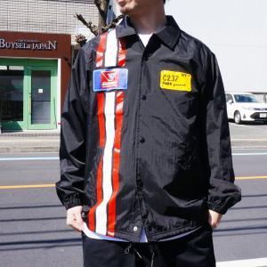 マークゴンザレス MARK GONZALES コーチジャケット RACING COACH JACKET ブラック 黒 BLACK mr-vibes