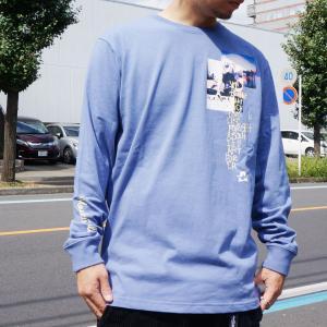 全3色 マークゴンザレス MARK GONZALES ロンT Tシャツ ART FOR L/S Tee ホワイト ブラック ブルー mr-vibes