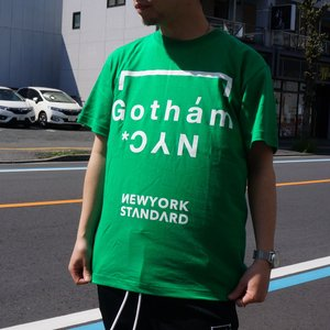 ゴッサム GOTHAM Tシャツ GOTHAM NYC S/S Tee グリーン GREEN 緑 半袖 GN601 mr-vibes